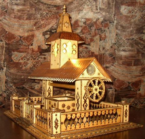 Pirogravura Traforaj Machete Manastiri Bisericute Biserici