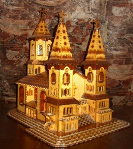 Poze Macheta Manastire Sau Bisericuta