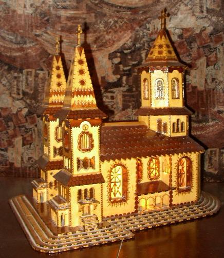 Traforaj Machete Manastiri Bisericute Biserici